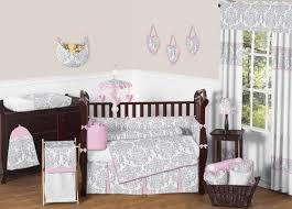 sweet jojo designs elizabeth crib bedding collection pink