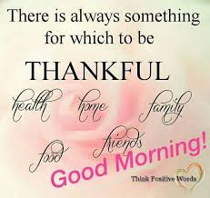 Thank You Good Morning Quotes