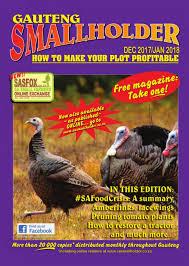 Small Holder Magazine Classy Gauteng Smallholder Dec 32 Jan 32 Joomag Newsstand