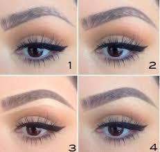 eyebrow tutorial step by step brows