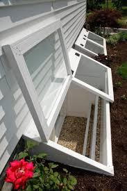 basement window well ideas. Window Well Cover Idea: Redi-Exit Egress Systems\u0027 Two Deluxe Custom Wells With Hinged Covers. Great Idea For Mini Greenhouse Too If You Make The Basement Ideas W