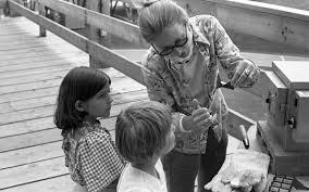 Priscilla Bowen Teaching Children At Artpark 1976 > Collection > Burchfield  Penney Art Center