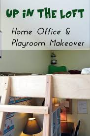 office playroom. Fine Office Meet Up In The Loft Home Office U0026 Playroom Makeover For