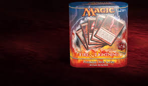 PREMIUM DECK SERIES: <b>FIRE</b> & LIGHTNING - <b>CARD SET</b> ...