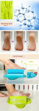 Bathroom Foot Brush Cleaning Slipper Massage Brush Scrubber With ...
