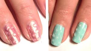 3D Water Splash Droplet Nails - Water Splatter Nail Art Tutorial ...