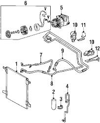 parts com® mercedes benz ml430 condenser compressor lines oem 2000 mercedes benz ml430 base v8 4 3 liter gas condenser compressor