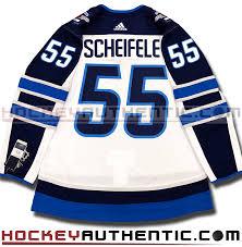 Jets Scheifele Authentic Jersey – Mark Hockey Pro Winnipeg Nhl Adidas