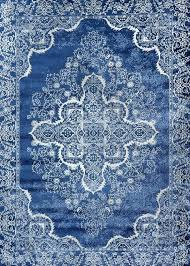 blue medallion rug well woven light traditional area x opalhouse anita