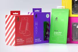 Mobile Charger Packaging Design Ubear Mash Creative Packaging Design Electronic