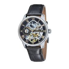 8 top men s skeleton watches for men best selling most popular thomas earnshaw skeleton longtitude men s automatic watch black dial analogue display and black leather strap