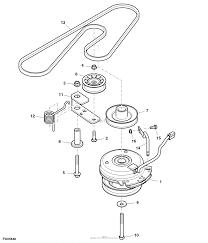 John deere parts diagrams john deere z235 eztrak mower with 42 c