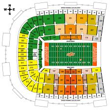 Missouri State University Football Stadium Seating Chart Oklahoma State Cowboys 2009 Football Schedule