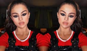 selena gomez s makeup will inspire you to take your cat eye makeup to the next