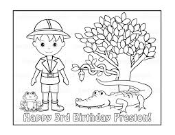 Small Picture free jungle printables coloring pages Jungle Coloring Pages