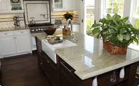 Dark Kitchen Cabinets With Light Granite Simple Pros And Cons Of Granite Kitchen Countertops CounterTop Guides