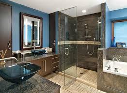 blue and brown bathroom designs. Brilliant Bathroom Brown Blue Bathroom His Her Master For And Designs B
