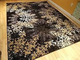 black and brown rug large rugs contemporary tree leaf brown black beige cream modern rug carpet