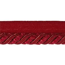 Decorative Fabric Trim Helena 3 8 Decorative Lip Cord Trim Berry Discount Designer