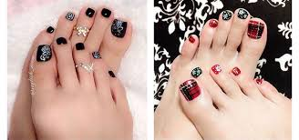 Toe Nail Art Designs 10 Winter Toe Nails Art Designs Ideas 2016 2017 Fabulous Nail