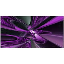 display gallery item 2 purple bedroom wide abstract canvas display gallery item 3