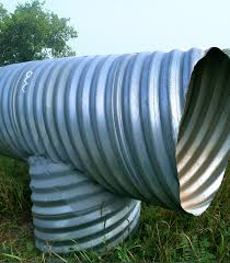 we carry corrugated steel pipe s that come with steel rodent grates in all sizes csp manholes hickenbottoms and perforated risers can be fabricated