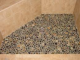 pebble shower floors for tiled showers how to install small intended tile floor remodel 9