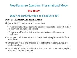 ap french language and culture workshop ppt  essay presentational writing 40