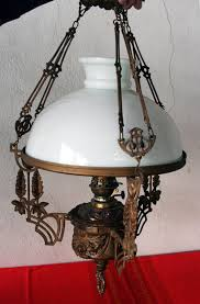 my old lamps old gas chandelier