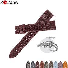 <b>ZLIMSN</b> Top Quality Genuine <b>Crocodile</b> Luxury Round Stripe ...
