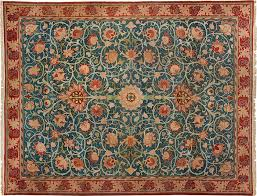 a william morris rug from the metropolitan museum of art