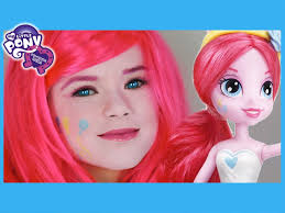 my little pony pinkie pie makeup tutorial equestria s doll cosplay kittiesmama you