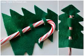How To Decorate A Candy Cane For Christmas Candy Cane Christmas Ornaments Invitation Template 9