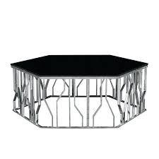 silver coffee table small round uk
