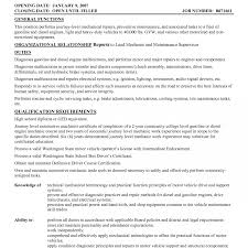 Maintenance Technician Resume Horsh Beirut