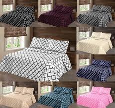 queen coverlet set  new pc nena bed bedspread quilt set