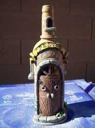 I\u0027m reusing empty wine bottles to sculpt these customized front ...