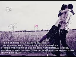Romantic Quotes For Boyfriend Stunning 48 Most Romantic Birthday Quotes For Boyfriend YouTube