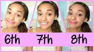 pleasing 8th grade makeup and hair for your middle makeup 6th 7th 8th grade