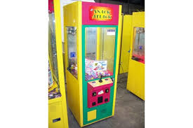 Snack Attack Vending Machine Gorgeous 48 SNACK ATTACK CANDY CRANE MACHINE ICE Item Is In Used