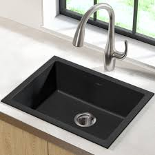 Kgd 410b Kraus 24 L X 18 W Drop In Kitchen Sink Reviews Wayfair