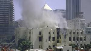 Image result for los angeles public library fire