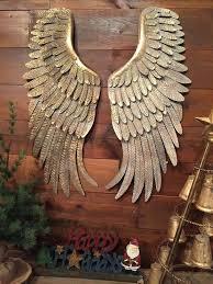 wings wall art wall decor arts new metal angel wings hanging wall decor rustic distressed wings wings wall art
