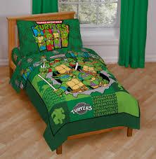 Ninja Turtle Bedroom Furniture Nickelodeon Toddler Boys 4 Piece Bedding Set Baby Baby