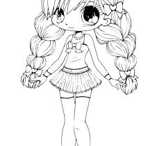 Anime Coloring Sheets Pdf Coloring Pages Flowers Anime Sheets Girl
