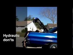 lowrider hydraulics don t do that for the beginner episode 1 lowrider hydraulics don t do that for the beginner episode 1