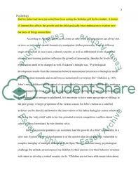 developmental psychology case study example topics and well  developmental psychology essay example