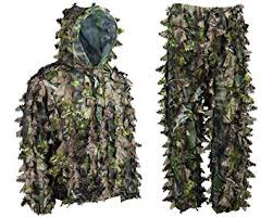 Ghillie Suit Size Chart Amazon Com Ultra Light Ambush Hd Camouflage Leafy Ghillie