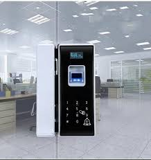 china mobile control smart glass door lock electroplating surface frr lt 0 1 supplier