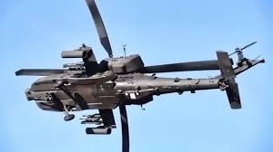 Apache Helicopter Maneuver Shoot